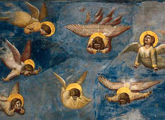 giotto the lamentation angels